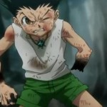 Gon takes massive damage from two Little Flower attacks from Genthru.
