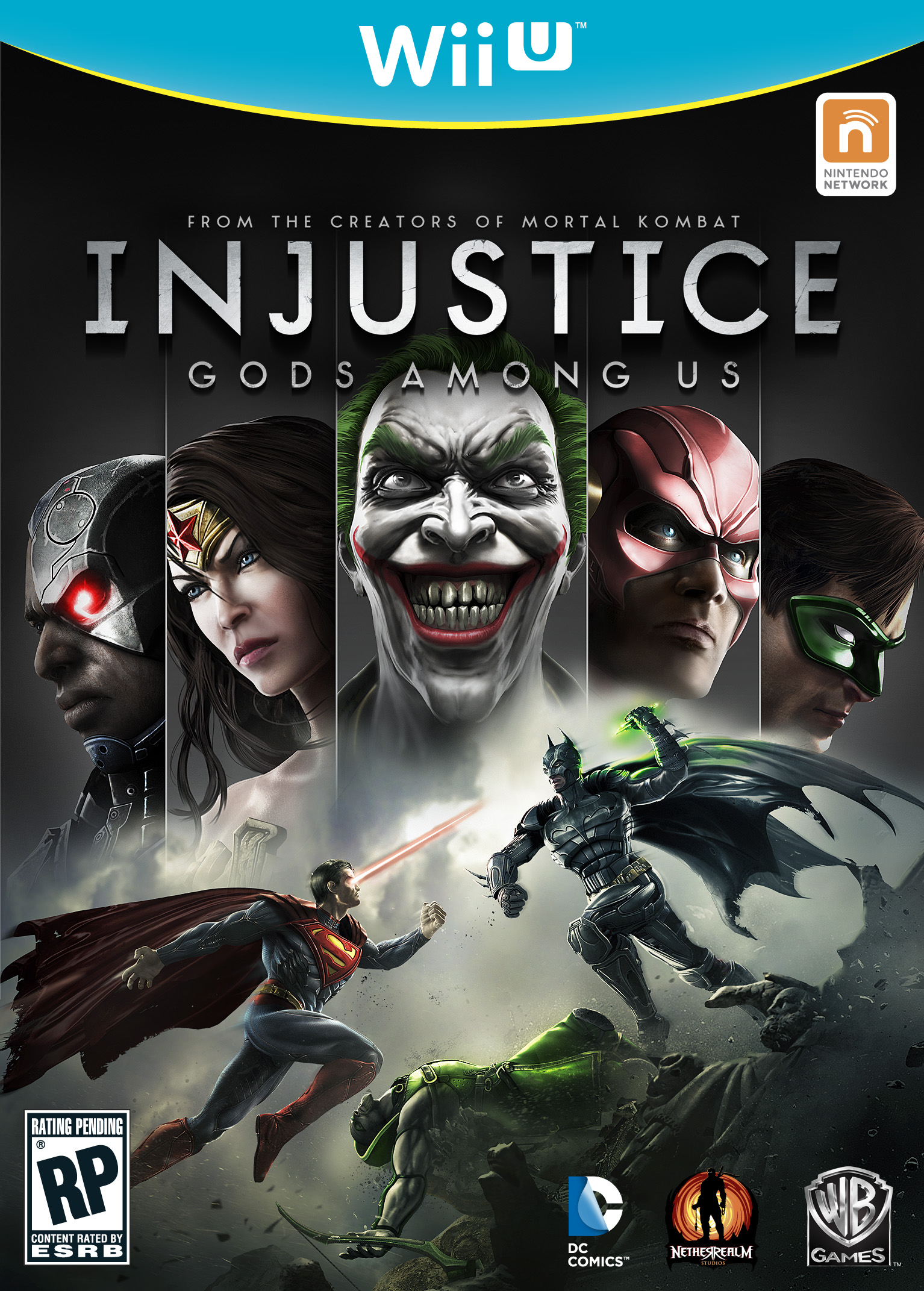 Wii U injustice cover