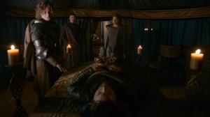 Game of Thrones Renly Baratheon's death