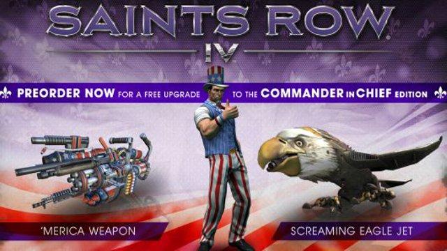 Saints Row 4 Pre-Order Bonuses Announced