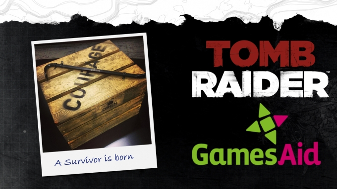 Square Enix Holds Tomb Raider Charity Auction for GamesAid