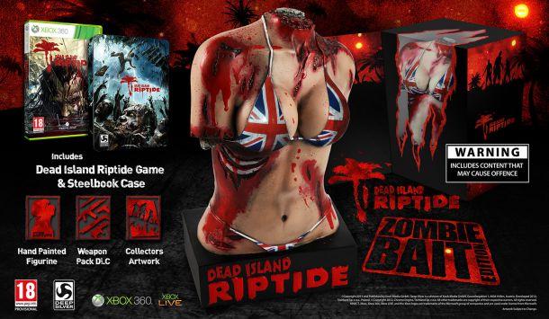 Dead Island: Riptide Zombie Bait Edition Ships Despite the Controversy
