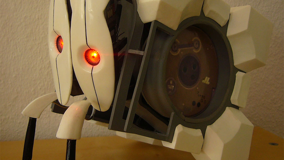 Amazing Replica of the Frankenturret From Portal 2 Twitches Like the Real Thing