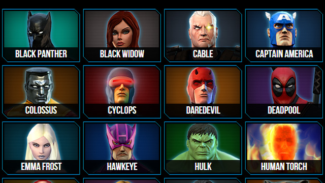 All Marvel Characters Trivia Quizzes and Games Page 2