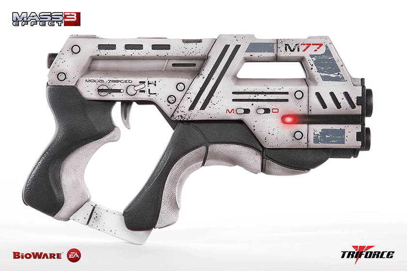 Three New Mass Effect Replicas Coming Soon From Project Triforce