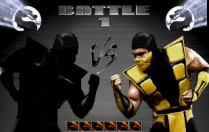 Mortal Kombat 3 on the SNES: Noob Saibot Vs Scorpion