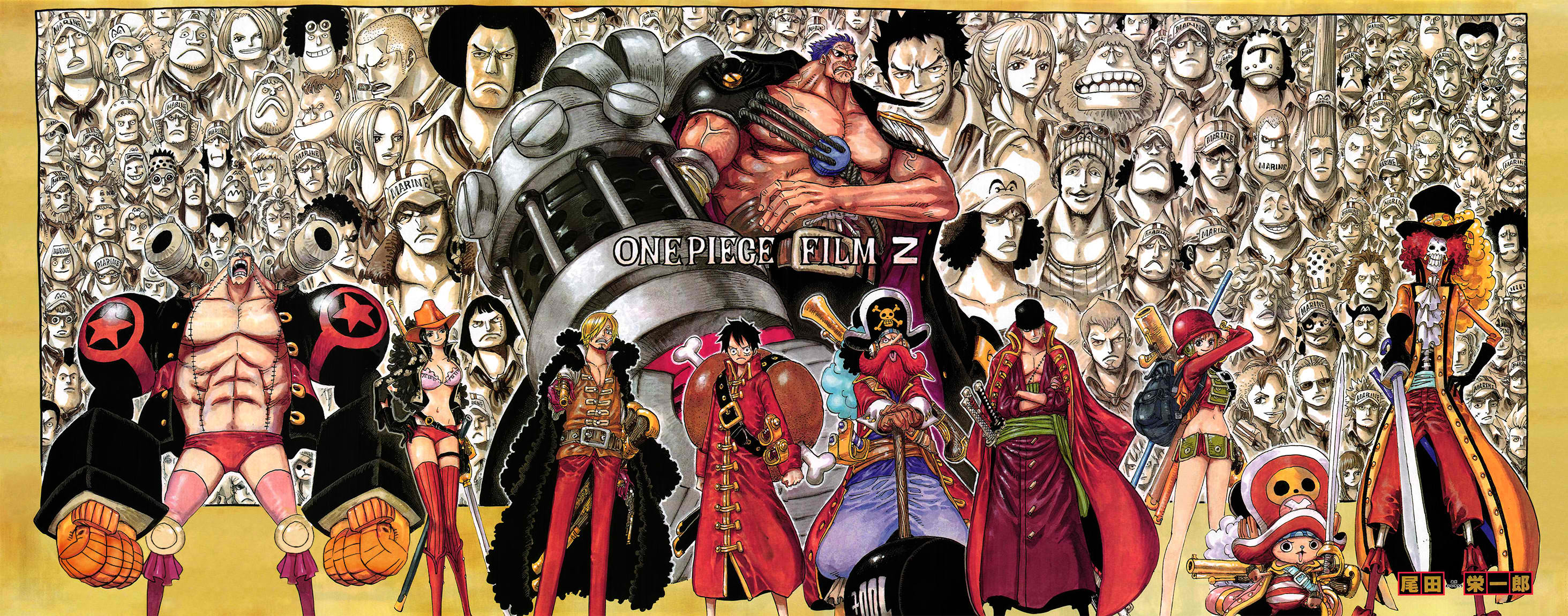one piece film z review simple does it leviathyn. Black Bedroom Furniture Sets. Home Design Ideas