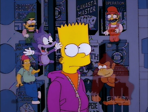5 Of The Best Video Game References in The Simpsons