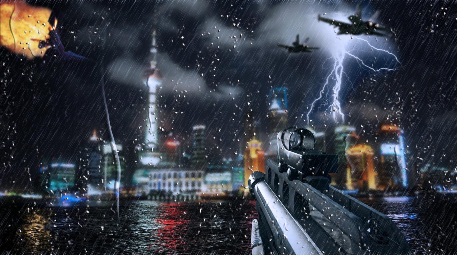 Battlefield 4 Night Sky
