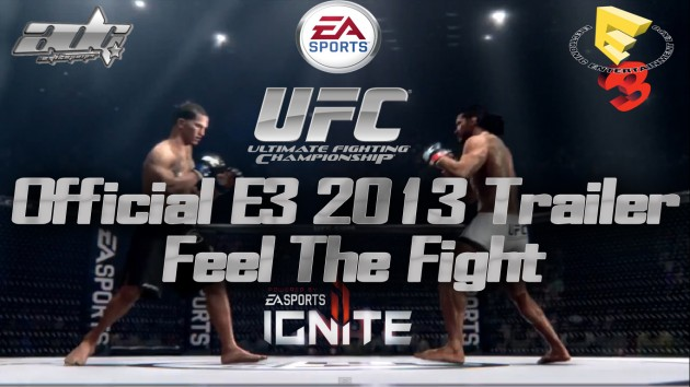EA Sports UFC Revealed at E3 2013