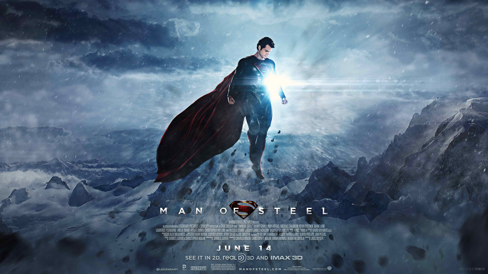 Man of Steel poster featured