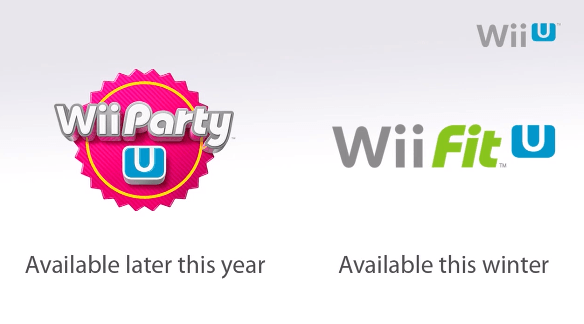 Wii U's Casual Games, Wii Party U and Wii Fit U, Delayed Until Later This Year