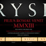 Xbox One: Ryse: Son Of Rome Revealed