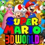 Nintendo Announces Super Mario 3D World For The Wii U