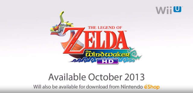 The Legend of Zelda: Wind Waker HD Coming In October