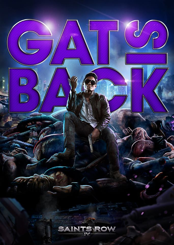 Gat is Back for Saints Row 4