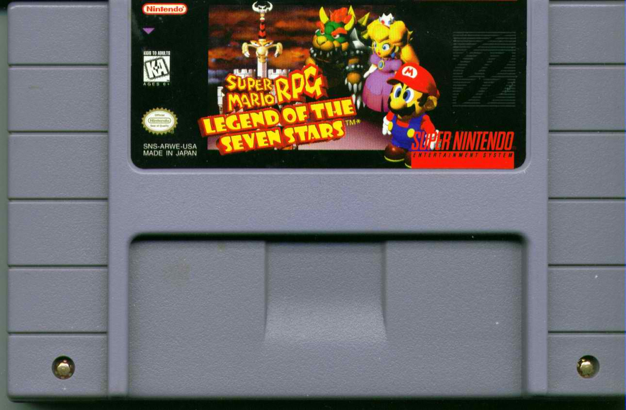 MARIO RPG CARTRIDGE FEATURED
