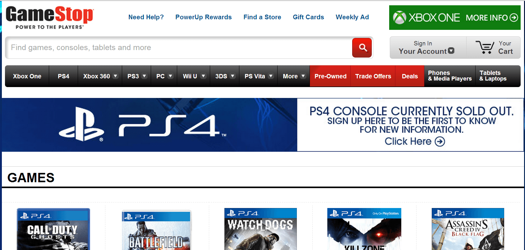 gamestop-ps4
