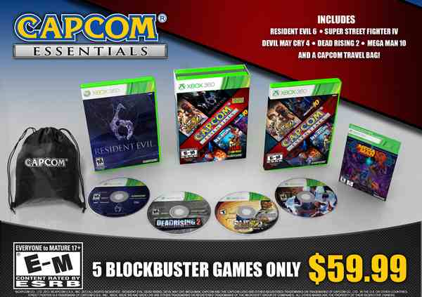 Capcom Essentials Edition Announced For October 2013