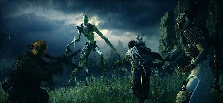 Dragon Age: Inquisition Pre-Alpha Combat Footage