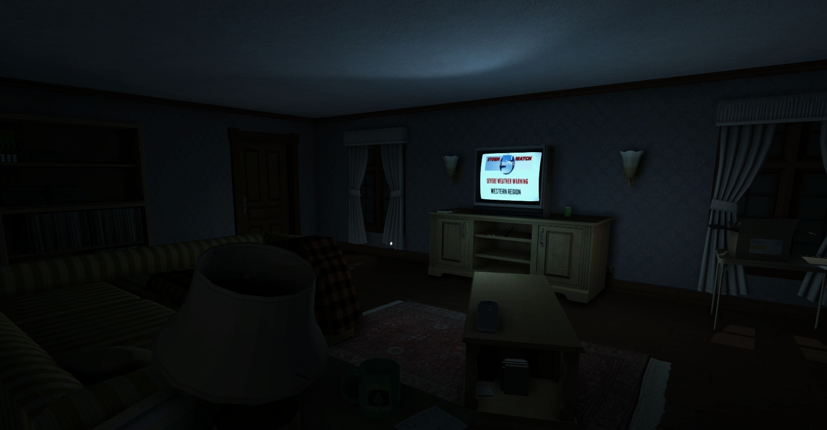 How Gone Home Succeeds in Being Completely Terrifying