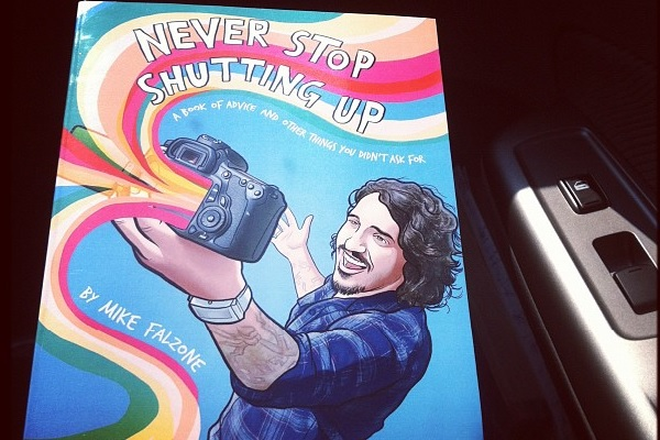 Never Stop Shutting Up – A Book of Advice Review: Never Stop Being Awesome