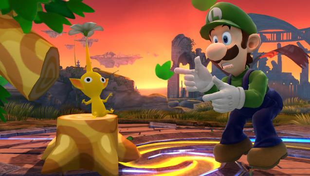 Luigi Revealed for Super Smash Bros Wii U and 3DS