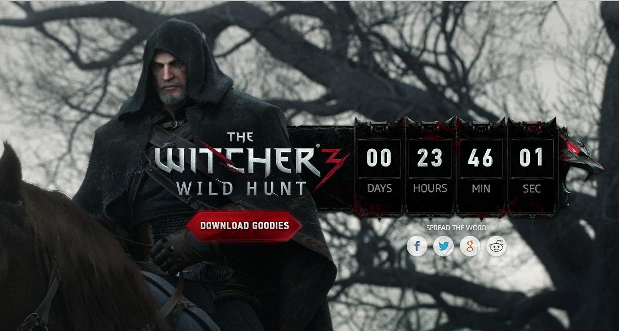Witcher Clock