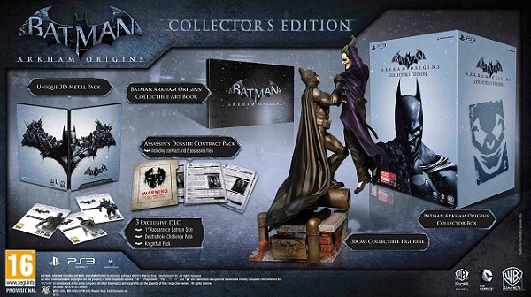 Batman: Arkham Origins Gets A Collector's Edition