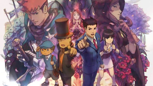 Professor Layton vs Ace Attorney: North American Release