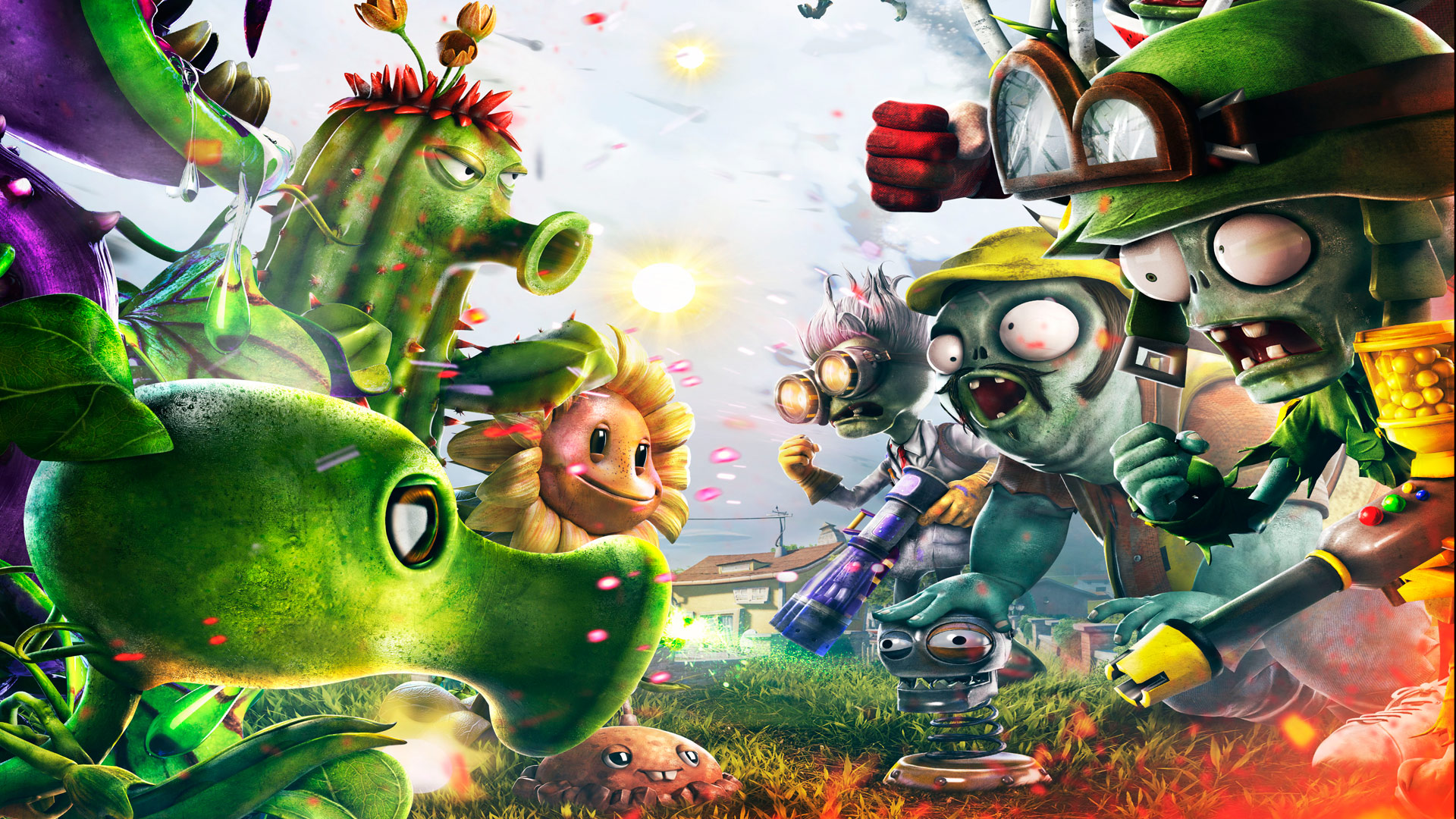 No single-player in Plants vs Zombies: Garden Warfare