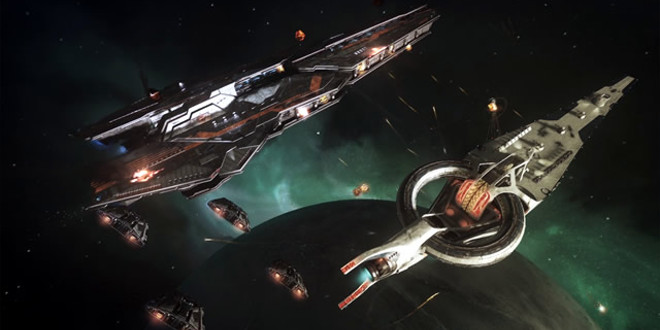 'Elite- Dangerous' – Capital Ship Battle