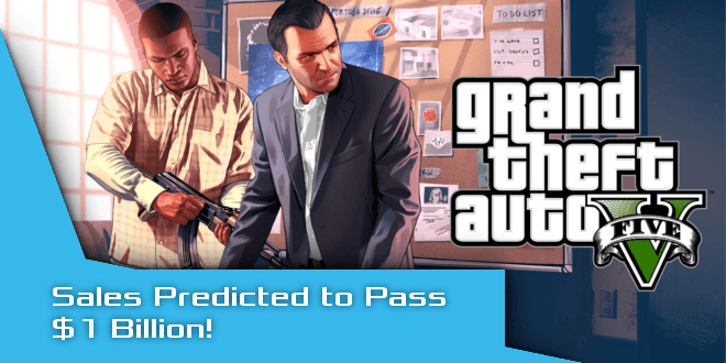 'GTA V' –  $1 Billion Sales Perdiction