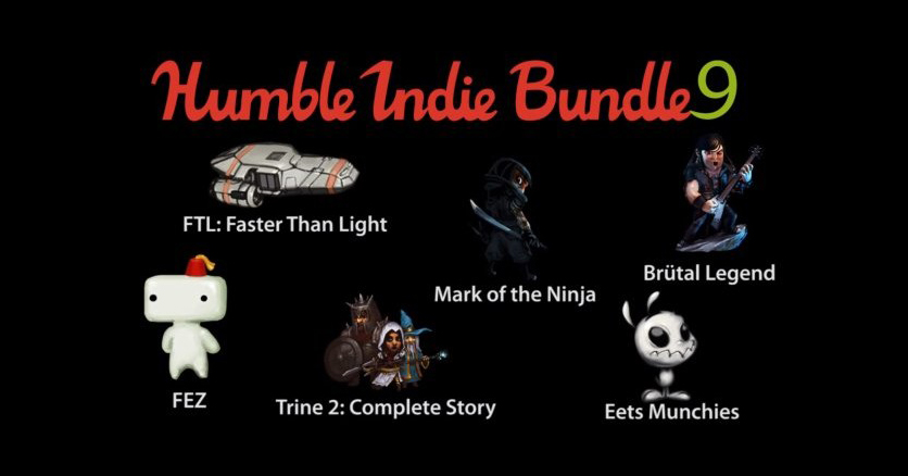 Record-Breaking Humble Indie Bundle 9 Includes Trine 2, Fez, Brutal Legend and More