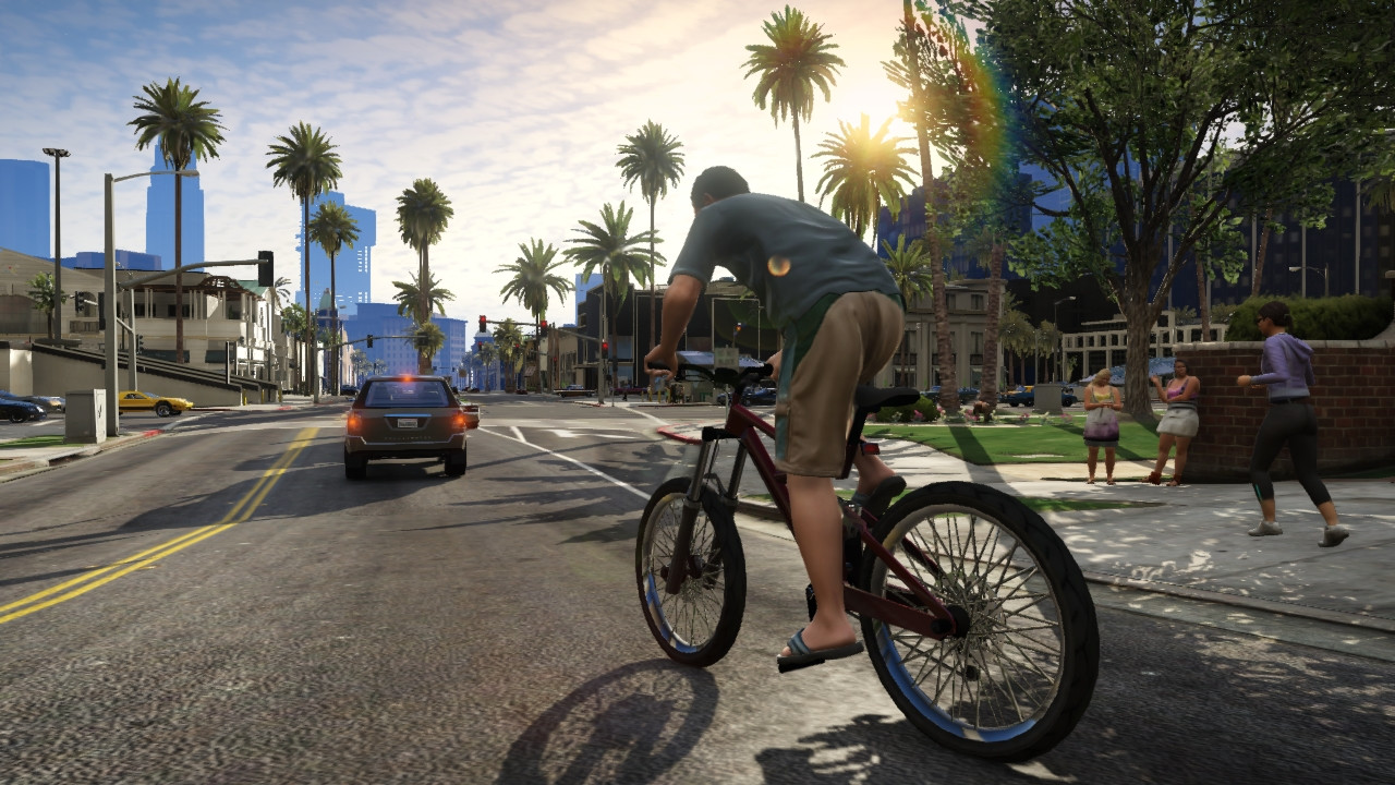 Grand Theft Auto V Leaks Show Off Gameplay
