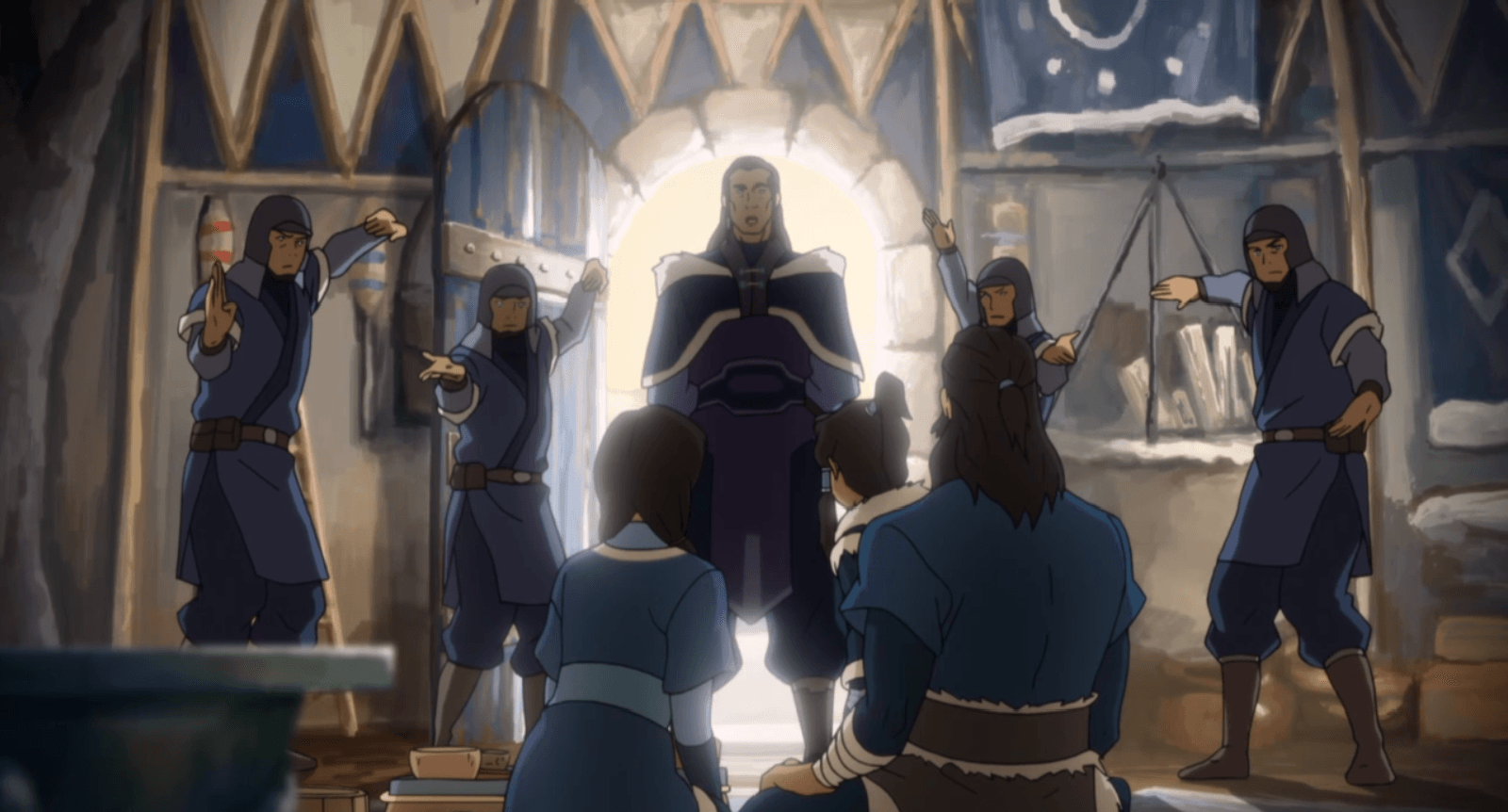 "The Legend of Korra: ""Civil War Pt. 1"" – Warring Families"