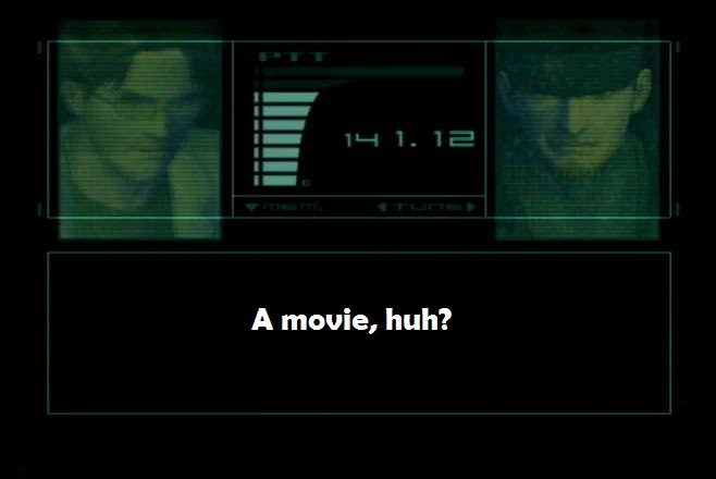 3 Reasons Why I Don't Want a Metal Gear Solid Movie