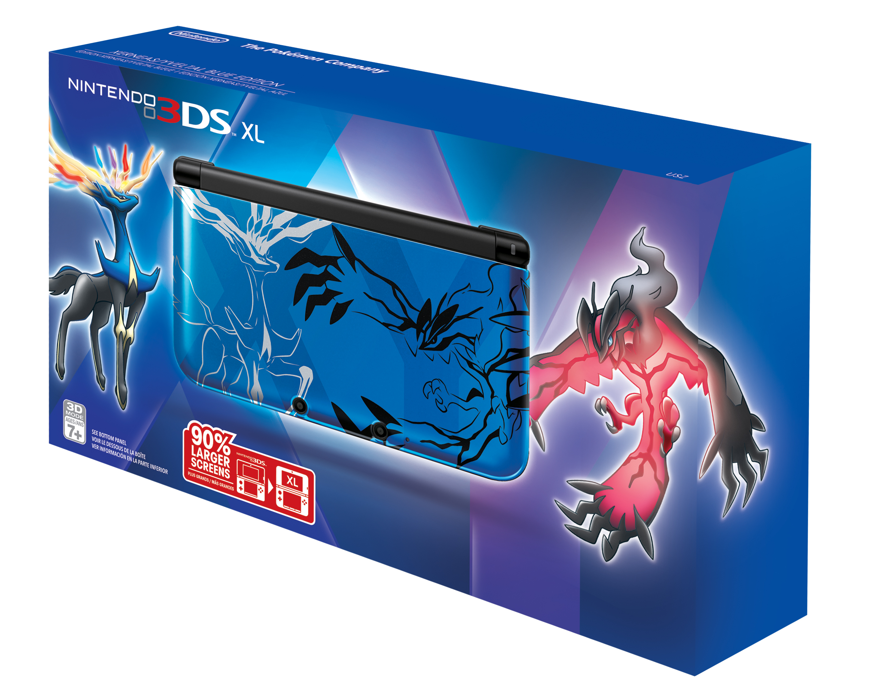 Two Pokemon X And Y Themed 3DS XL's Heading To North America
