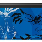 The blue Pokemon X/Y-themed 3DS XL