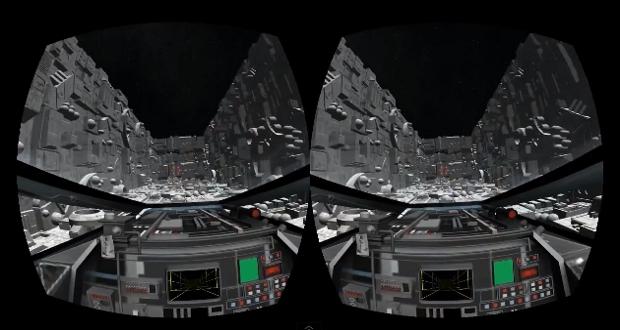 'Star Wars' Death Star Trench Run