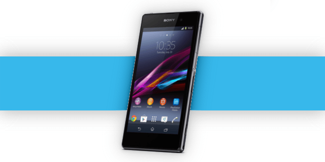 Sony's Xperia Z1 Available for Pre-order