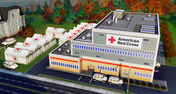 EA Teams Up With The Red Cross In SimCity Promotion