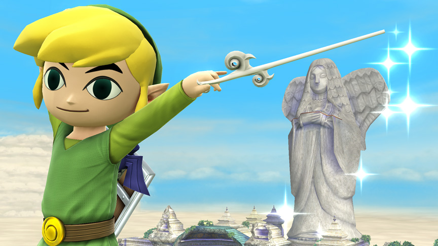 Toon Link Will Be in the Next Super Smash Bros.