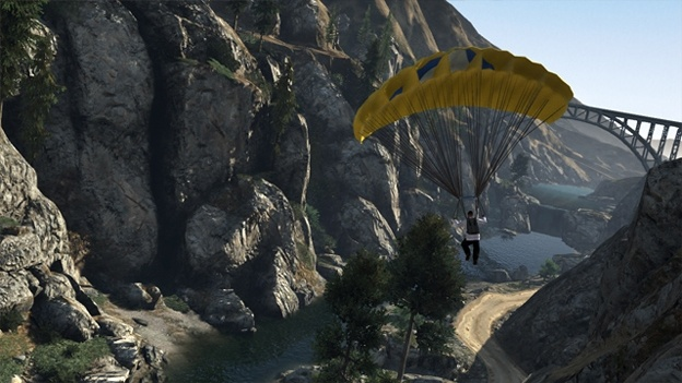 Jetpacks Might Be Heading To Grand Theft Auto 5