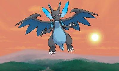 Mega Charizard X from Pokemon X