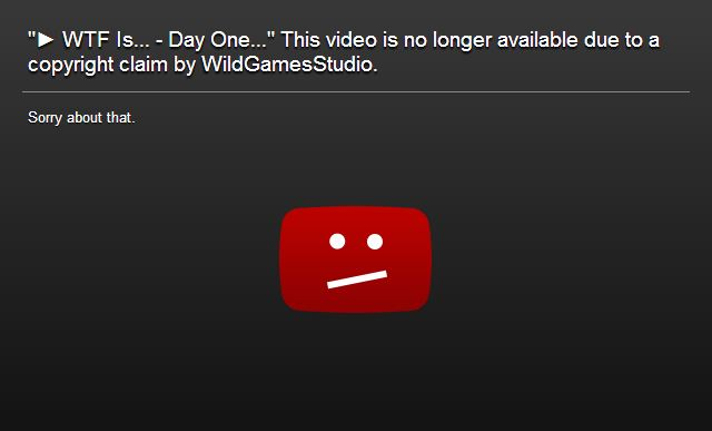 TotalBiscuit, Wild Games Studios and the Streisand Effect