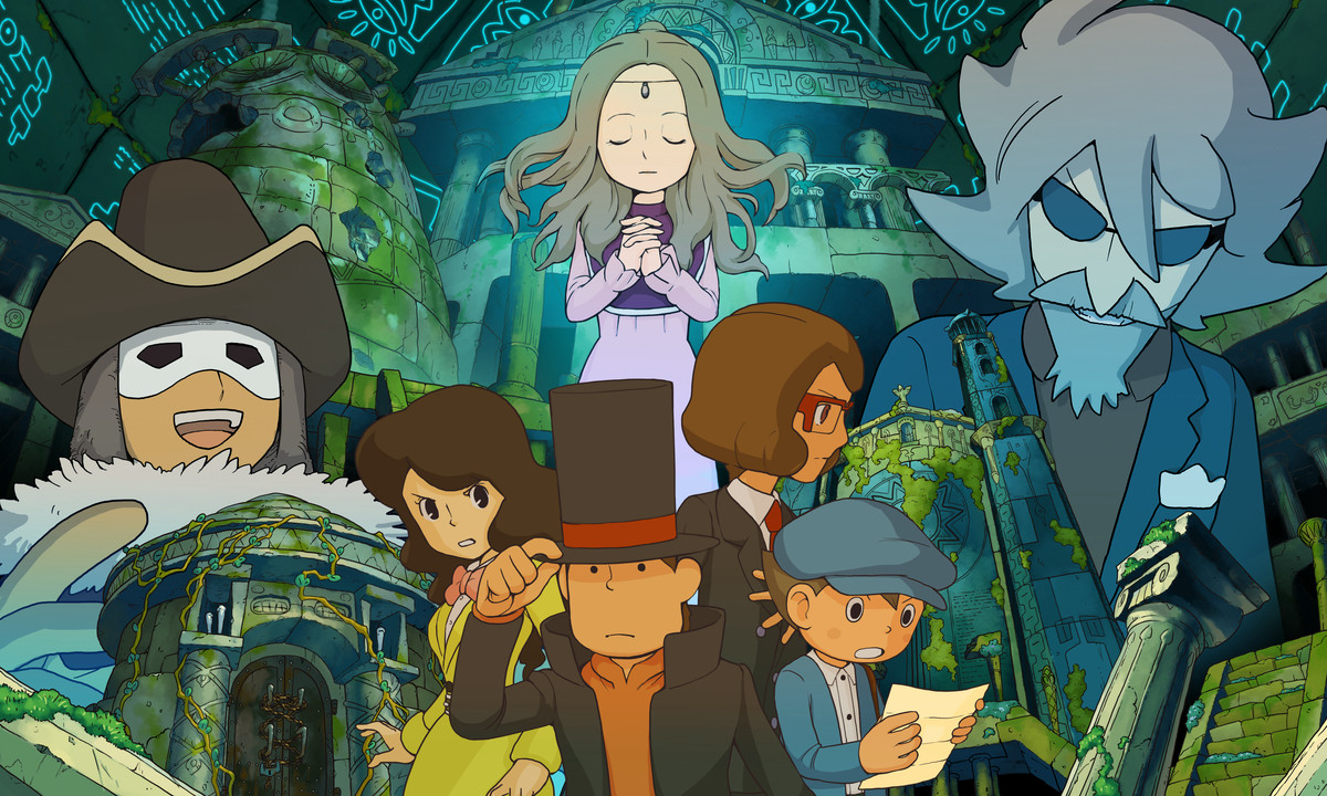 Professor Layton and the Azran Legacy Gets a Release Date