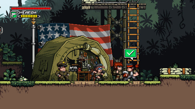 Mercenary Kings Preview: Gun-Wielding Goodness