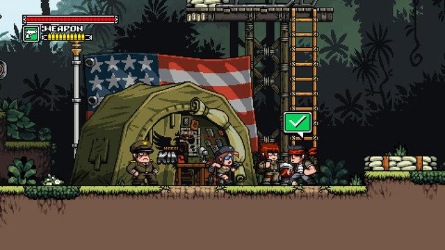 Mercenary Kings Preview: Gun-Wielding Goodness