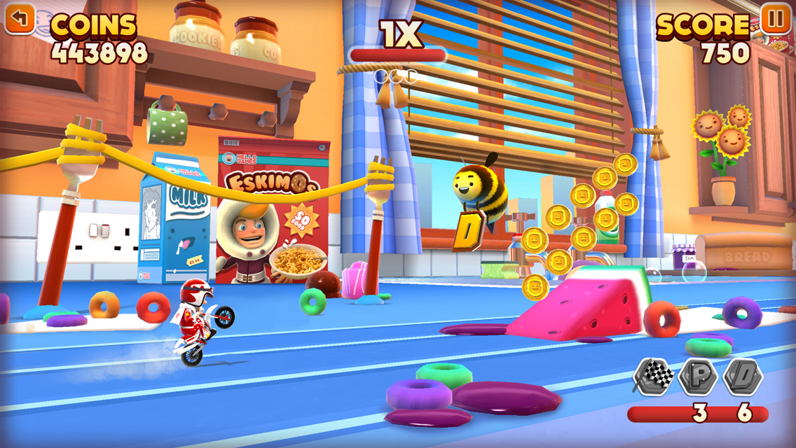 Hello Games Announces Joe Danger Infinity For IOS